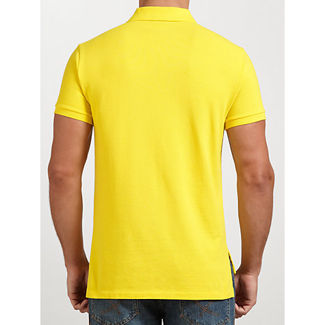 Buy Polo Ralph Lauren Custom Fit Cotton Polo Top Online at johnlewis.com