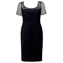 Buy Adrianna Papell Illusion Neck Dress Online at johnlewis.com