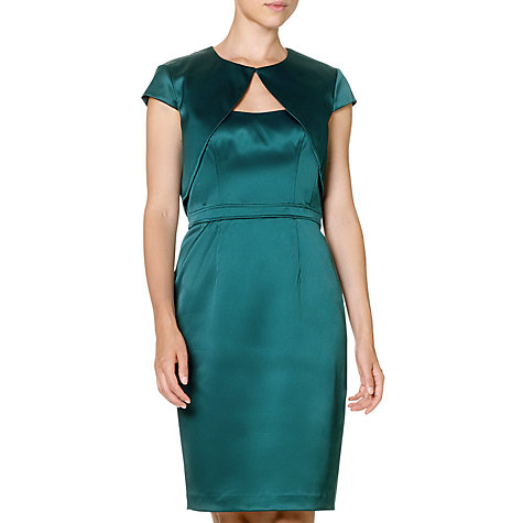 Buy Adrianna Papell Tailored Dress and Jacket, Hunter Online at johnlewis.com