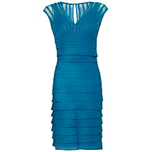 Buy Adrianna Papell Shimmer Net Dress Online at johnlewis.com