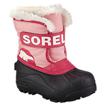 Buy Sorel Snow Commander Snow Boots, Pink Online at johnlewis.com