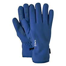 Buy Barts Fleece Gloves, Blue Online at johnlewis.com
