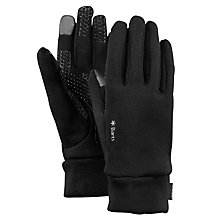 Buy Barts Touch Screen Powerstretch Gloves, Black Online at johnlewis.com