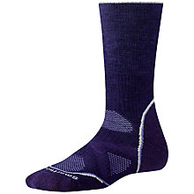 Buy SmartWool PHD Outdoor Medium Crew Socks, Purple Online at johnlewis.com