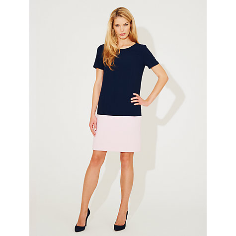 Buy Damsel in a dress Acacia Dress, Navy/Pink Online at johnlewis.com