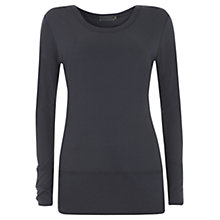 Buy Mint Velvet Layering T-Shirt, Ink Online at johnlewis.com