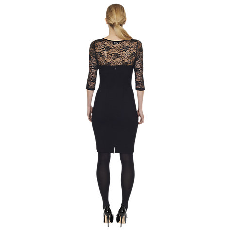 Buy James Lakeland Lace Sleeve Dress Online at johnlewis.com