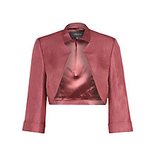 Buy Alexon Stepped Collar Bolero Online at johnlewis.com