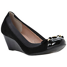 Buy Dune Attic Toe Cap Wedged Pump Shoes Online at johnlewis.com