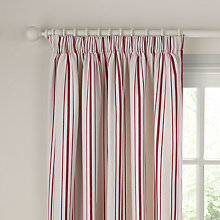 Buy John Lewis Lauren Stripe Lined Pencil Pleat Curtains Online at johnlewis.com