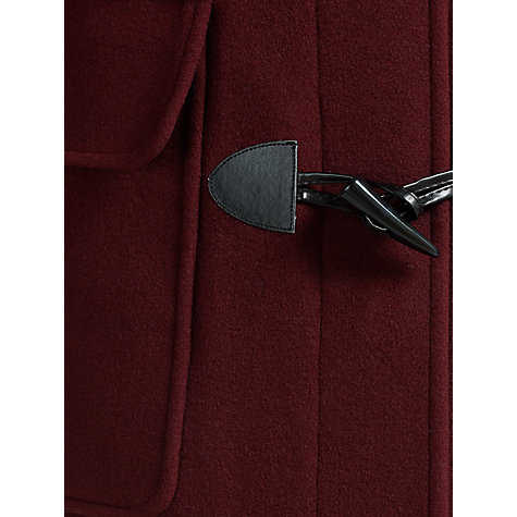 Buy Four Seasons Duffle Coat, Damson Online at johnlewis.com