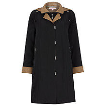 Buy Jacques Vert Classic Mac, Black Online at johnlewis.com