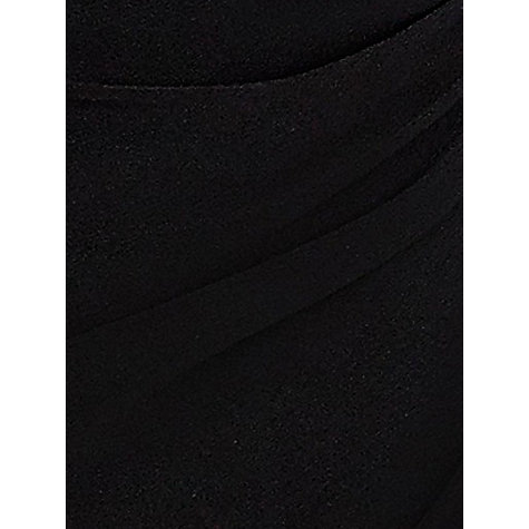 Buy Planet Jersey Wrap Dress, Black Online at johnlewis.com