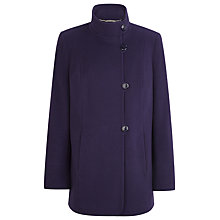 Buy Windsmoor Short Coat, Damson Online at johnlewis.com