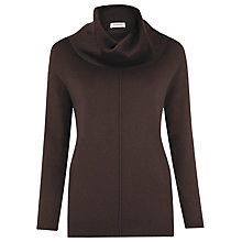 Buy Windsmoor Cowl Jumper, Chocolate Online at johnlewis.com