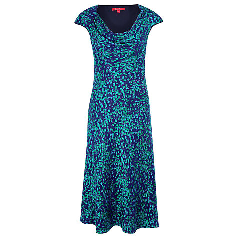 Buy Jacques Vert Devore Dress, Prussian Blue Online at johnlewis.com