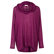 Buy Kaliko Roll Neck Jumper, Pink Online at johnlewis.com