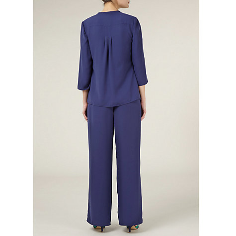 Buy Jacques Vert Over Shirt, Blue Online at johnlewis.com