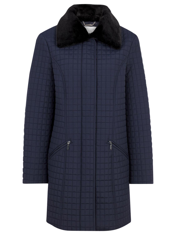 Windsmoor Mid Mini Quilted Coat, Navy