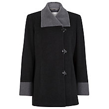 Buy Windsmoor Short Coat, Charcoal Online at johnlewis.com
