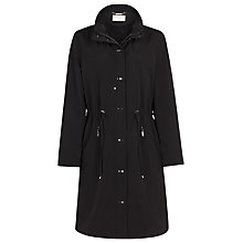 Buy Windsmoor Mid Length Raincoat, Black Online at johnlewis.com