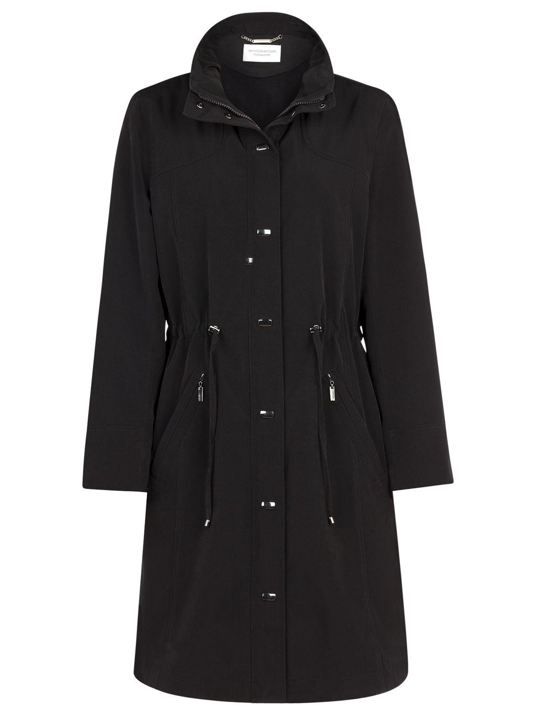 Windsmoor Mid Length Raincoat, Black