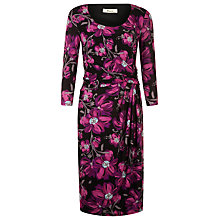 Buy Precis Petite Bright Floral Print Dress, Pink Multi Online at johnlewis.com