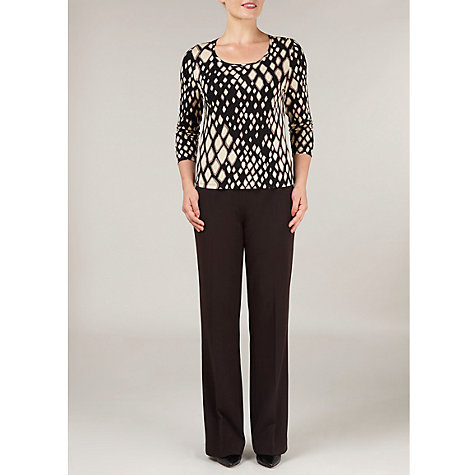 Buy Precis Petite Animal Print Jersey Top, Multi Online at johnlewis.com
