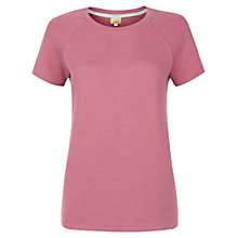 Buy NW3 by Hobbs Quilted T-Shirt, Pink Online at johnlewis.com