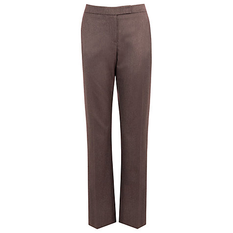 Buy Planet Tailored Trouser, Chocolate Online at johnlewis.com