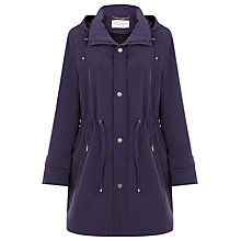 Buy Windsmoor Mid Length Raincoat, Purple Online at johnlewis.com