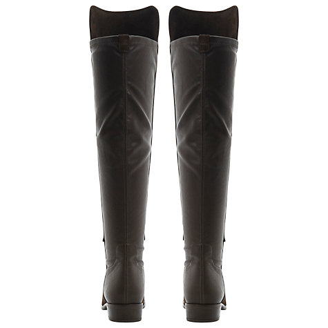 Buy Dune Trish Over The Knee Boots, Brown Online at johnlewis.com