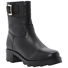 Buy Dune Reem Biker Boots Online at johnlewis.com