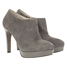 Buy Mint Velvet Suede Shoe Boots, Grey Online at johnlewis.com