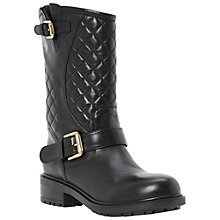 Buy Dune Router Quilted Biker Boots Online at johnlewis.com