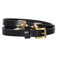 Buy Hobbs Swallow Leather Belt Online at johnlewis.com