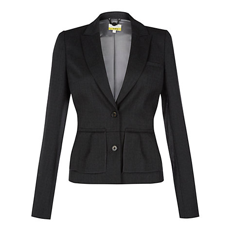 Buy NW3 by Hobbs Barbara Jacket, Dark Mouse Grey Online at johnlewis.com