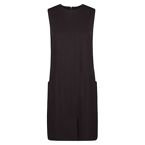 Buy Mango Two Pocket Shift Dress, Black Online at johnlewis.com