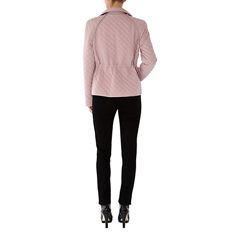 Buy Hobbs Ayla Jacket, Dusky Pink Online at johnlewis.com