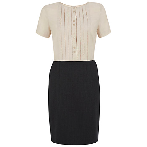 Buy NW3 by Hobbs Barbara Dress, Grey Online at johnlewis.com