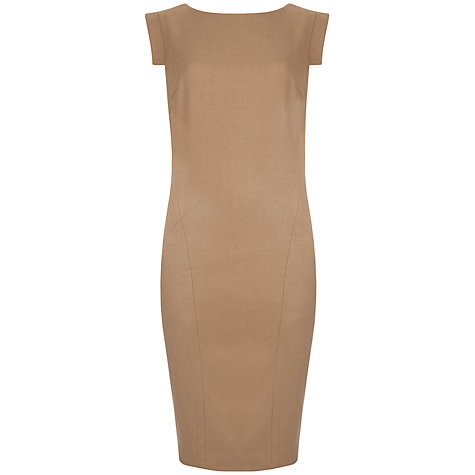 Buy Ted Baker Upalad Flannel Suit Dress, Camel Online at johnlewis.com