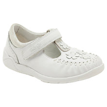 Buy Clarks Litzy Lou Shoes, White Online at johnlewis.com