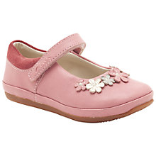 Buy Clarks Elza Lilly Mary Jane Shoes, Pale Pink Online at johnlewis.com