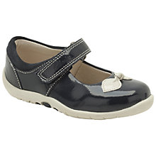 Buy Clarks Soft Bow Mary-Jane Shoes, Navy Online at johnlewis.com