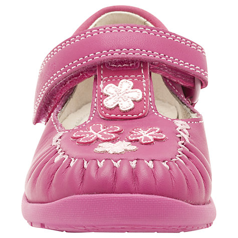 Buy Clarks Litzy Lou Shoes, Hot Pink Online at johnlewis.com