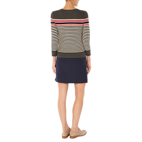 Buy NW3 by Hobbs Basketweave Jumper Online at johnlewis.com