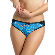 Buy Freya Piper Briefs, Cornflower Online at johnlewis.com