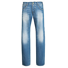 Buy Scotch & Soda Ralston Slim Jeans, Mid Blue Online at johnlewis.com