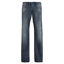 Buy Scotch & Soda Ralston Slim Fit Jeans, Washed Grey Online at johnlewis.com