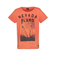 Buy Scotch & Soda Nevado Alamo T-Shirt, Coppermine Online at johnlewis.com